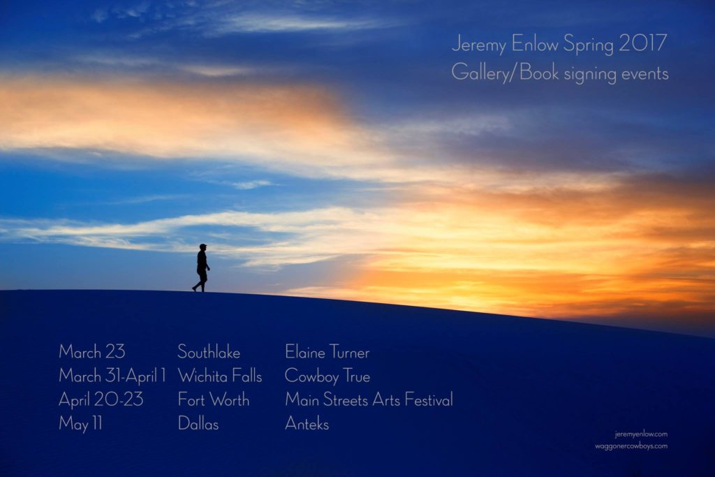 Jeremy Enlow Fine Art Photography is hosting a number of Photography Events in North Texas this spring