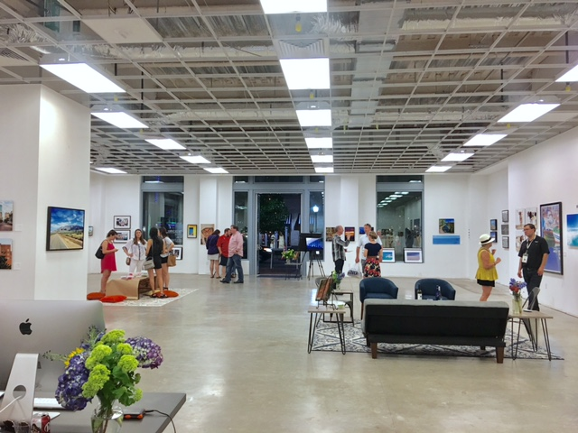Jeremy Enlow of Steel Shutter Photography brought his third pop up gallery for Main Street Arts Festival