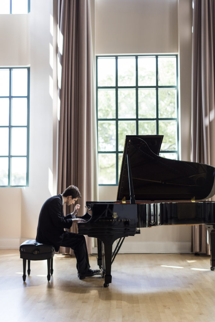 Kenneth Broberg Silver Medalist 15th Van Cliburn International Piano Competition  Mandatory Photo Credit Jeremy Enlow/Cliburn